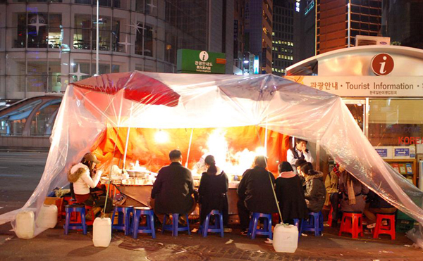 Gay Pojangmacha (Tent bar) in Jongro